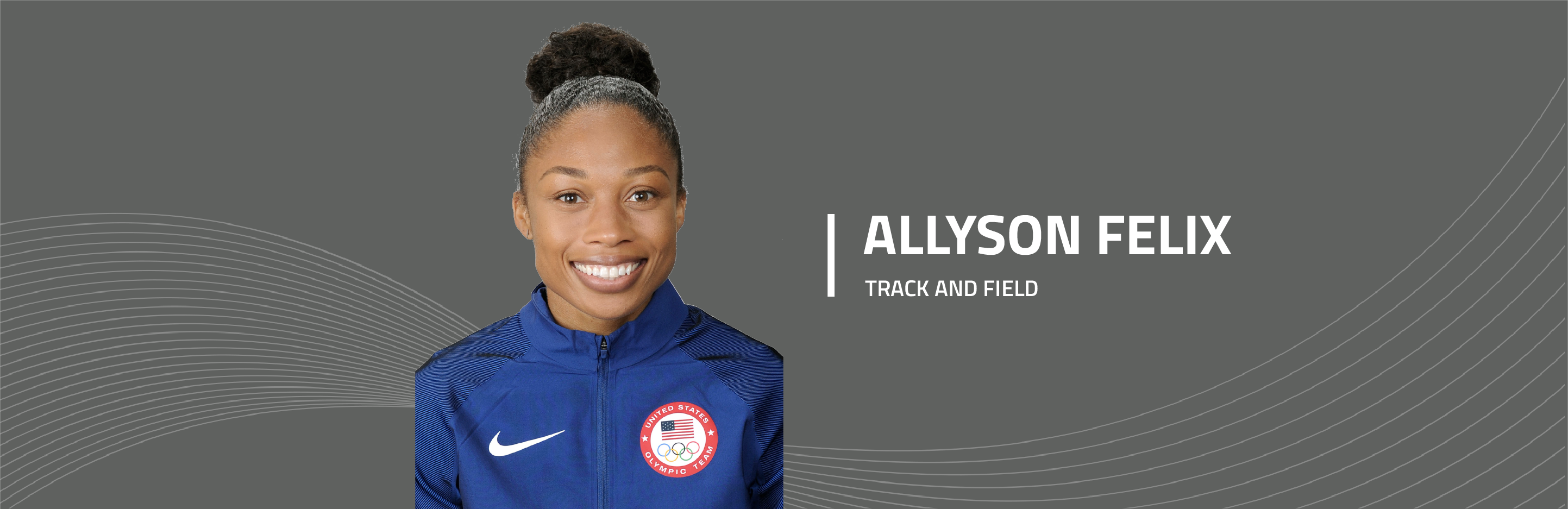 Allyson Felix team Bridgestone Olympic athlete