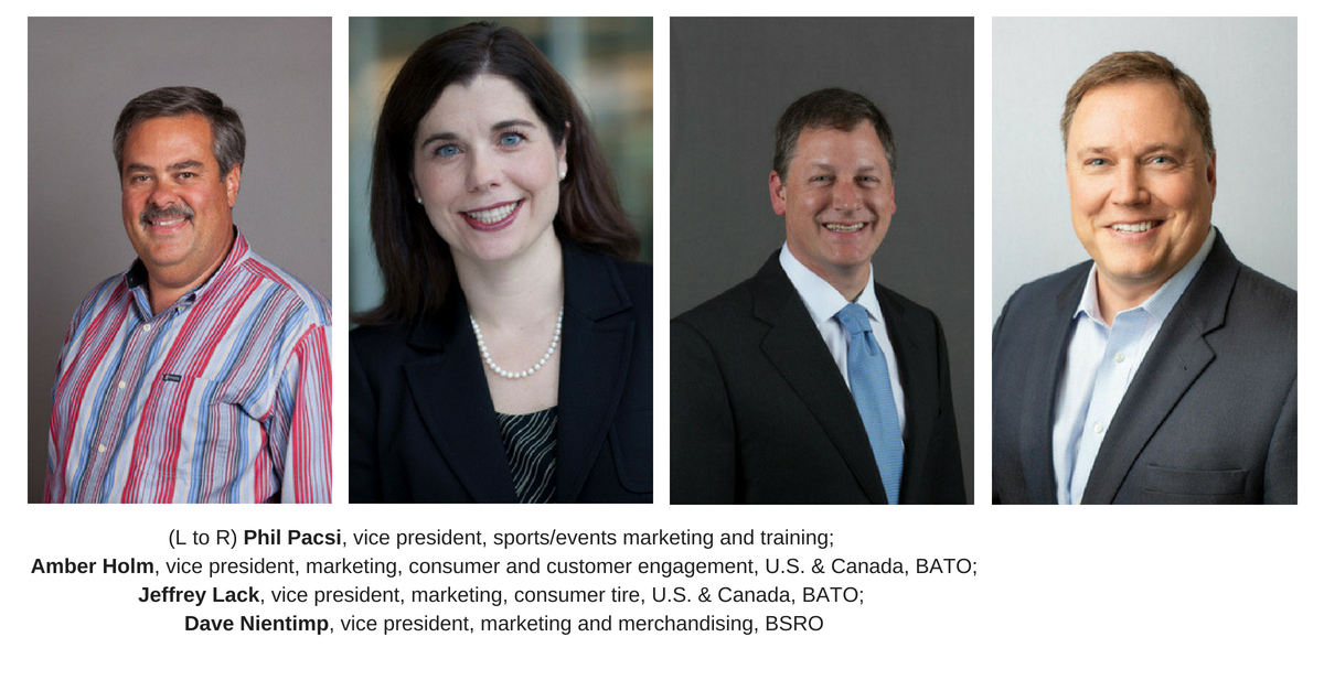 Bridgestone announces new marketing leaders in 2018
