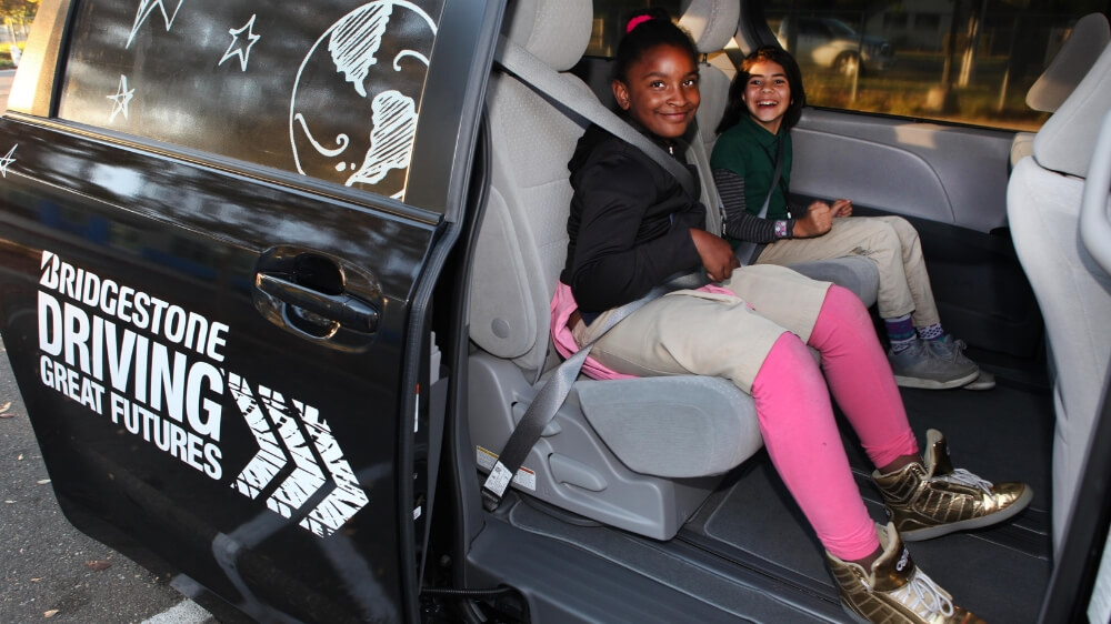 Bridgestone donates vans to Boys & Girls Clubs of America