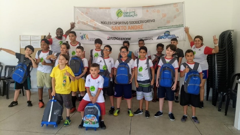Bridgestone Brazil school supply kits