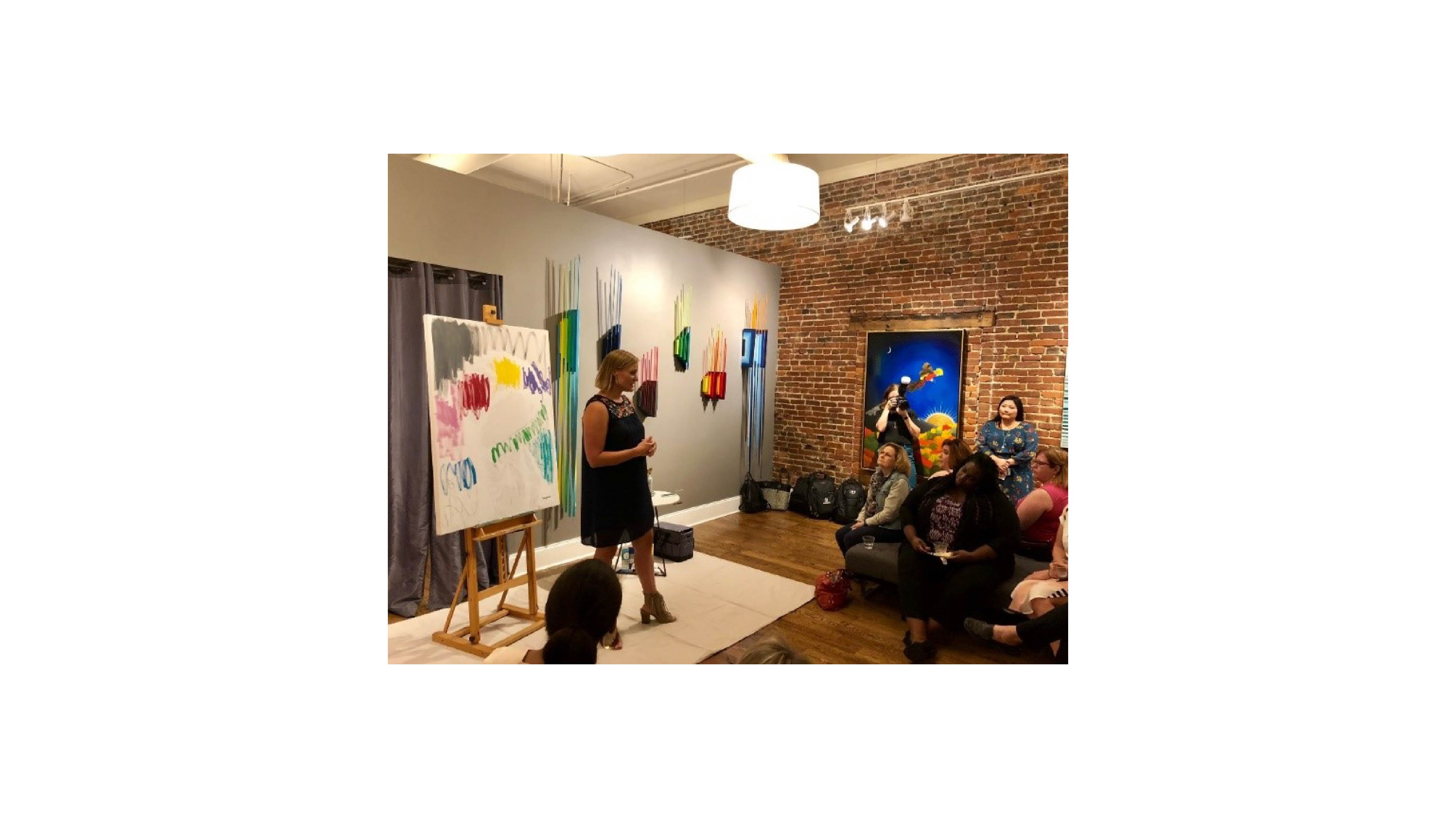 Bridgestone women art in leadership nashville