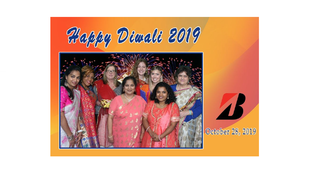 Bridgestone employees at Diwali celebration