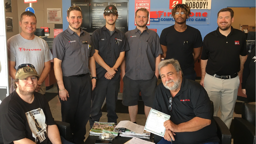 firestone complete auto care employees