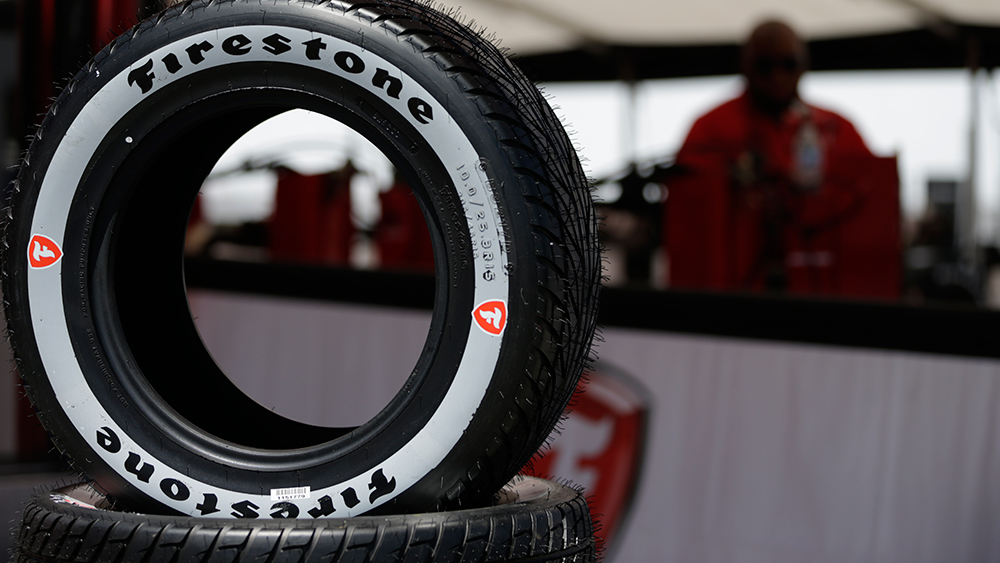New Firestone rain tire