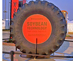Concept ag tire with soybean oil