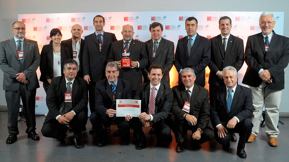 Bridgestone Recognized as Great Place to Work in Argentina