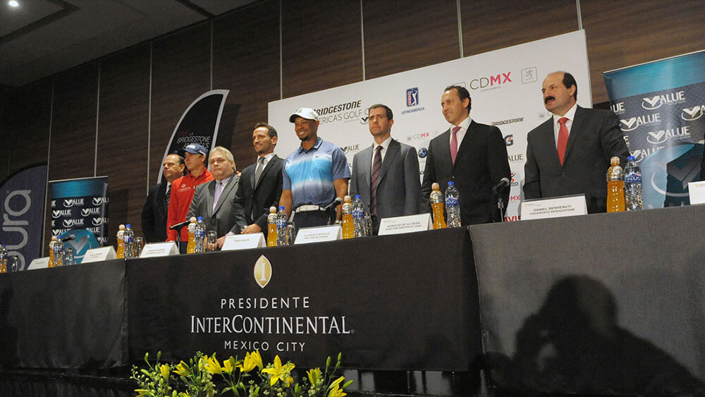 Bridgestone America's Golf Cup press conference