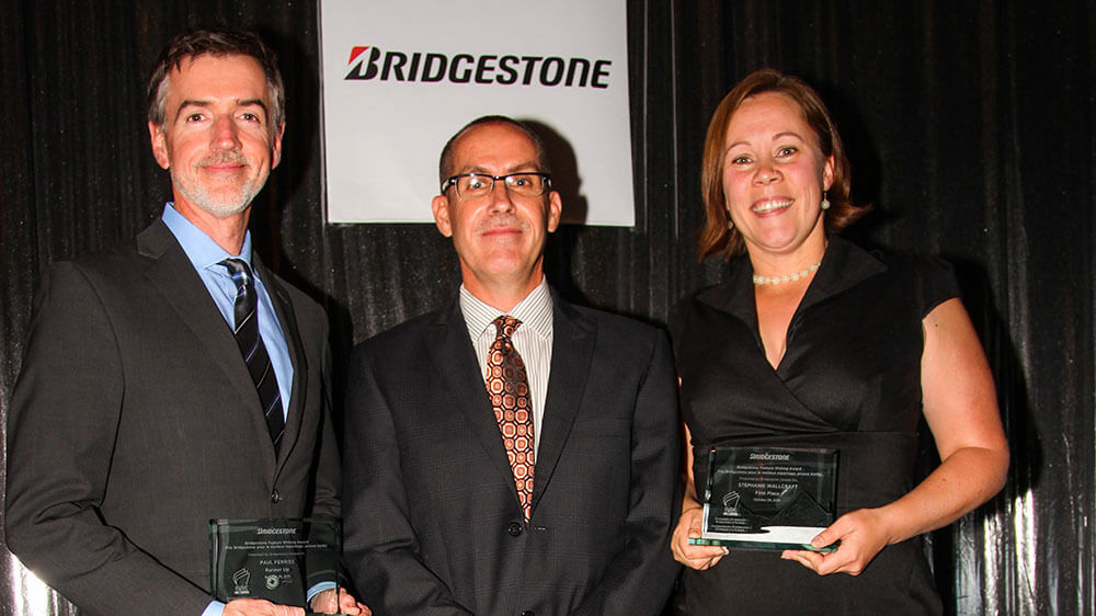 Bridgestone Presents Canadian Automotive Journalist Stephanie Wallcraft with Feature Writing Award