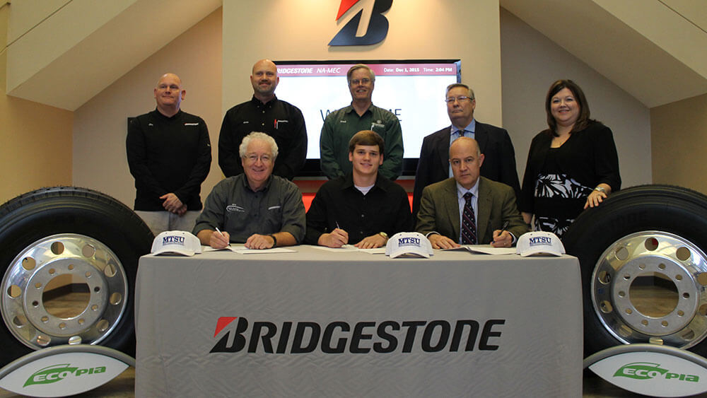 Middle Tennessee State University student becomes paid intern dedicated to mechatronics for Bridgestone Americas Tire Operations
