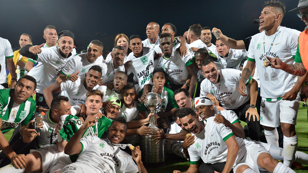Atletico Nacional from Colombia wins the Copa Bridgestone Libertadores 2016