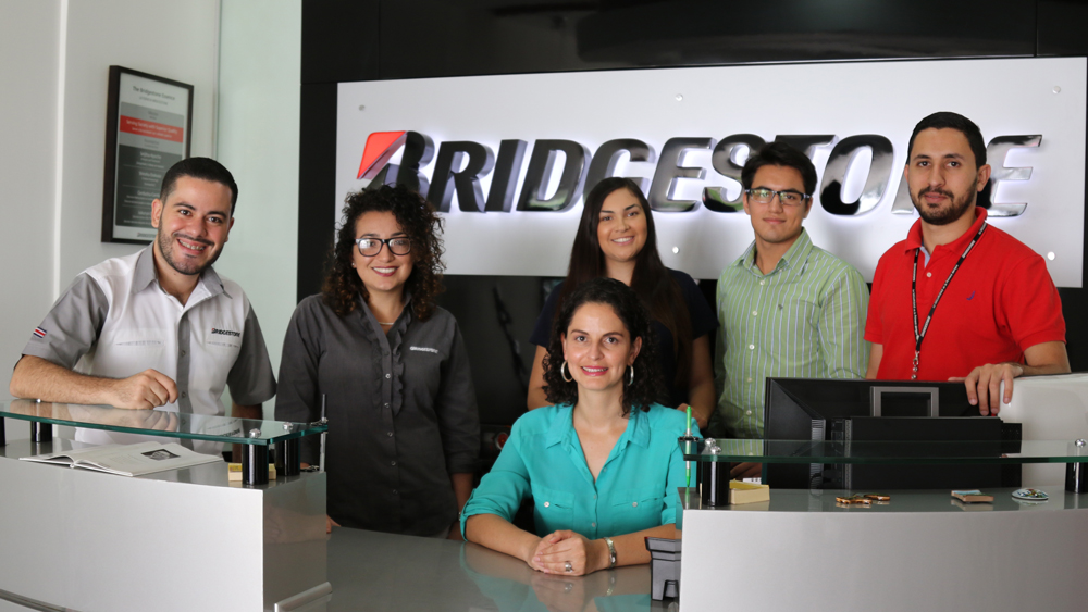 Millennials in management at Bridgestone Costa Rica