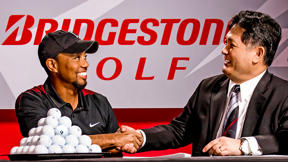 Tiger Woods Signs Multi-year Deal with Bridgestone Golf