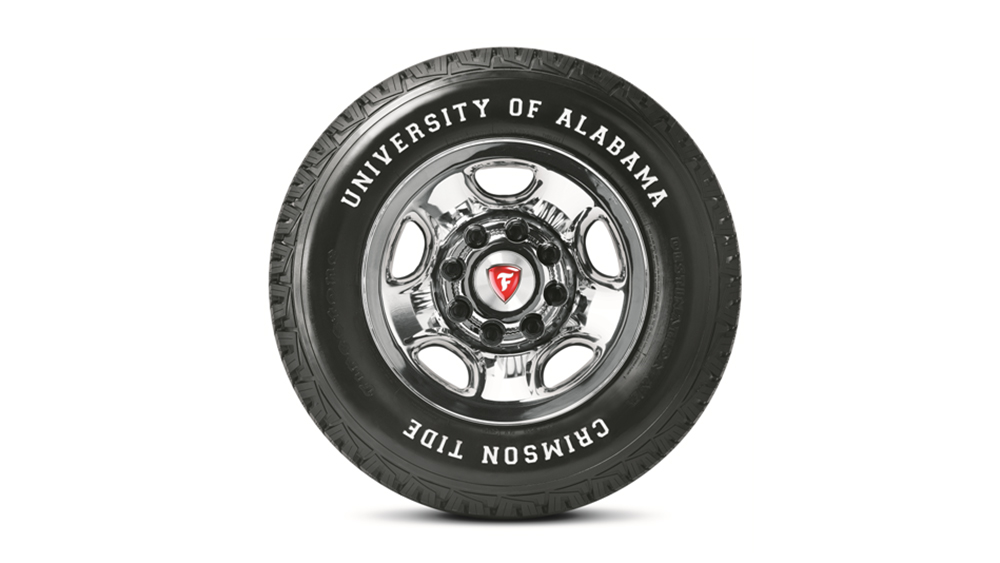Firestone Introduces Limited Edition University of Alabama Tire