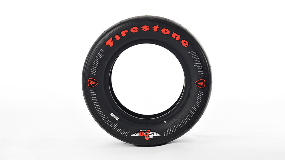 Commemorative Firestone Race Tire