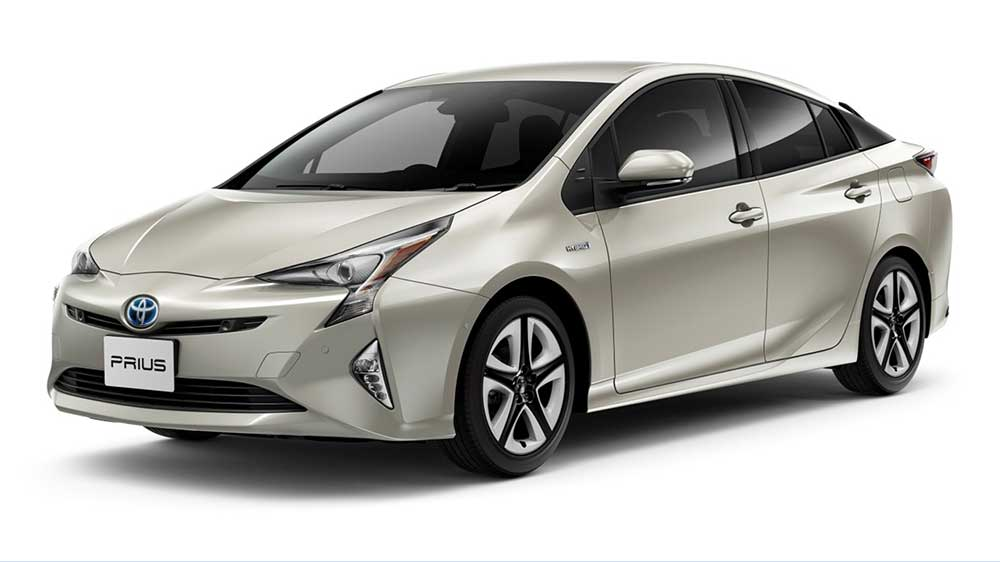 Toyota Prius with Bridgestone tires
