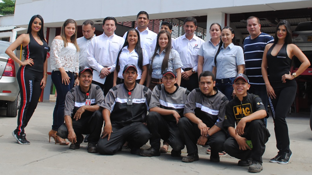 Bridgestone service center opens in Colombia