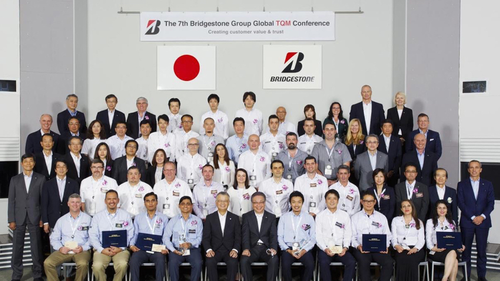 Bridgestone Holds Seventh Annual Bridgestone Group & Global TQM Conference