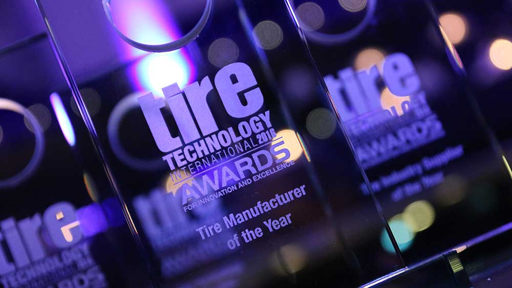 Tire Manufacturer of the Year award