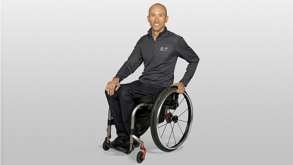 Team Bridgestone Paralympic athlete Will Groulx
