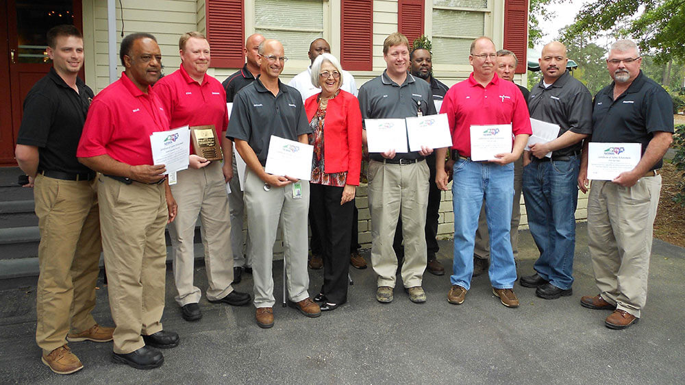 Wilson County plant labor awards recipients