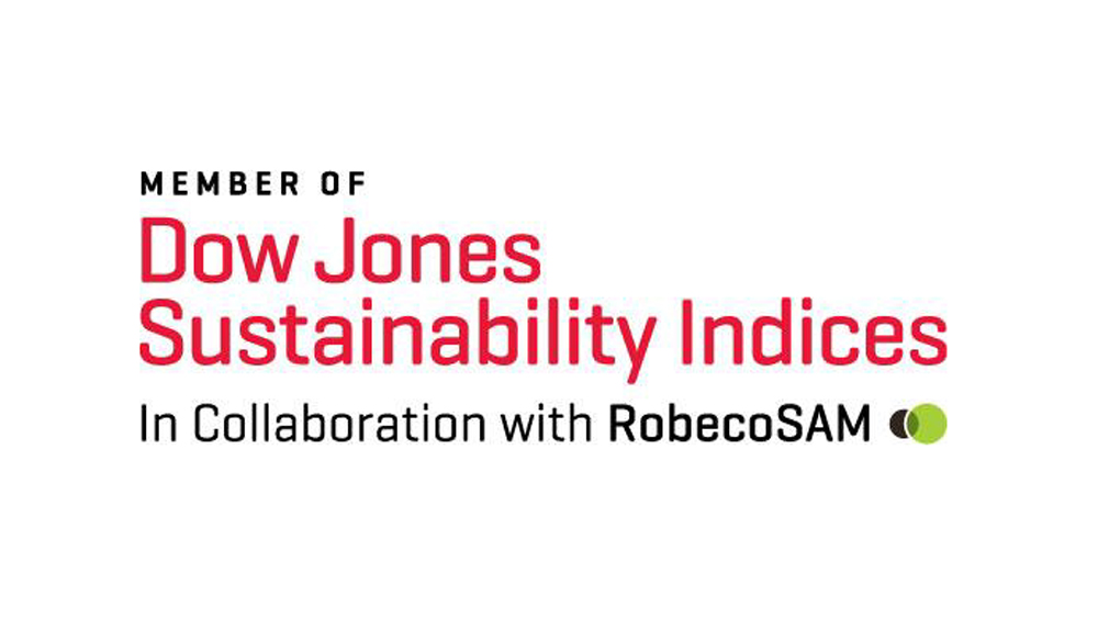 Members of Dow Jones Sustainability Indices In Collaboration with RobecoSAM