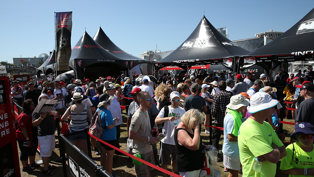 Firestone Racing fan experience