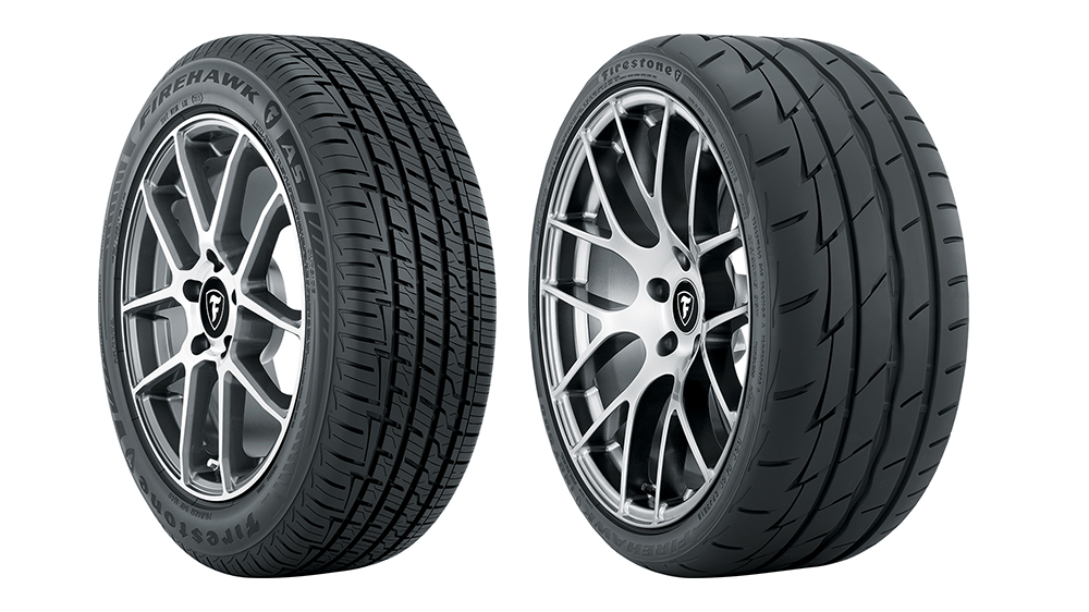 new Firestone Firehawk high performance tires
