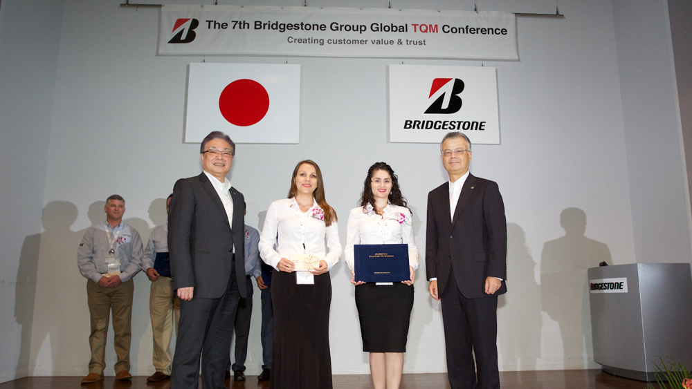 Bridgestone Costa Rican Engineers Obtained a Total Quality Management Award