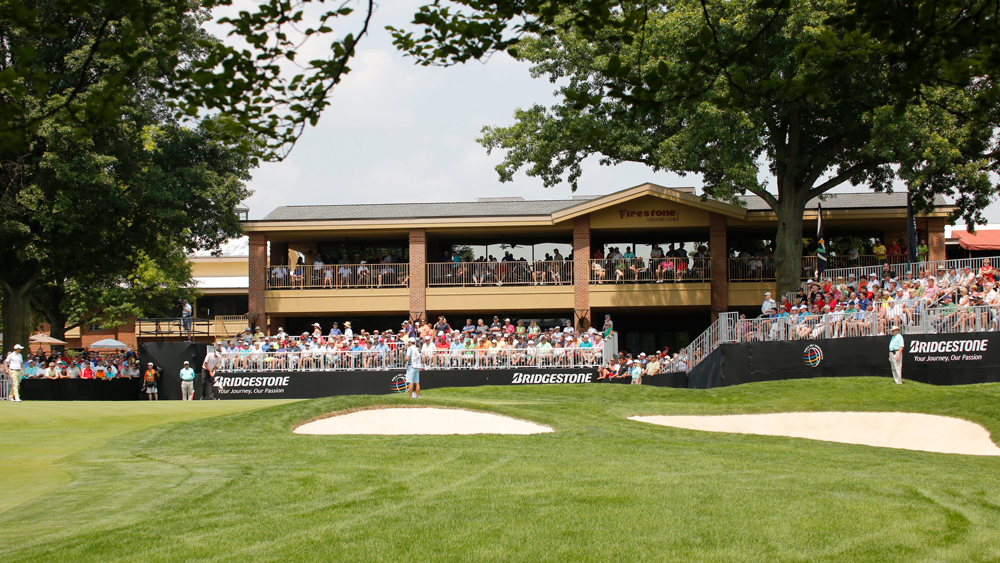 Firestone Country Club during Bridgestone Invitational