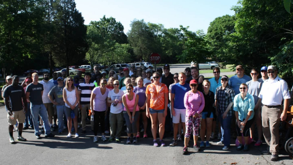 Bridgestone teammates volunteer for park cleanup