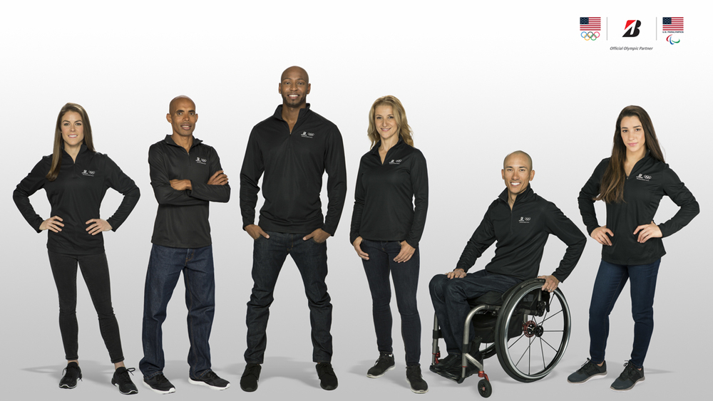 2016 Olympics Team Bridgestone