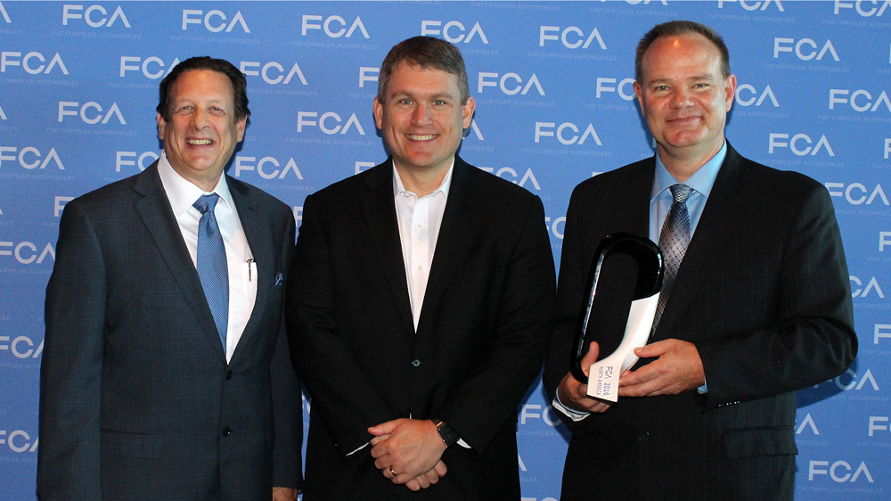 Bridgestone Receives FCA US Qualitas Foundational Principles Award