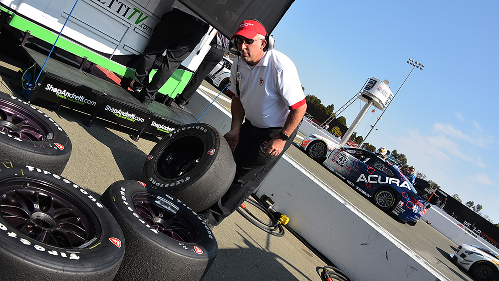 Dale Harrigle, Firestone racing tire development leader