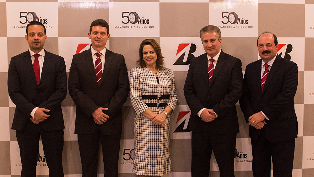 50th Anniversary celebration of Bridgestone Costa Rica