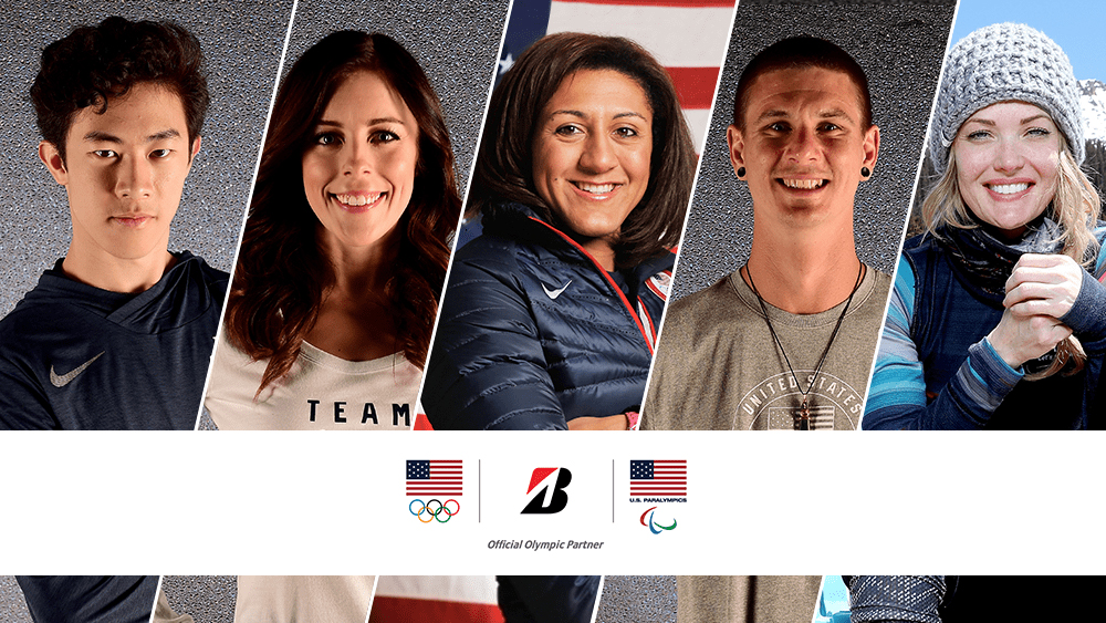 Team Bridgestone USA athletes for PyeongChang 2018