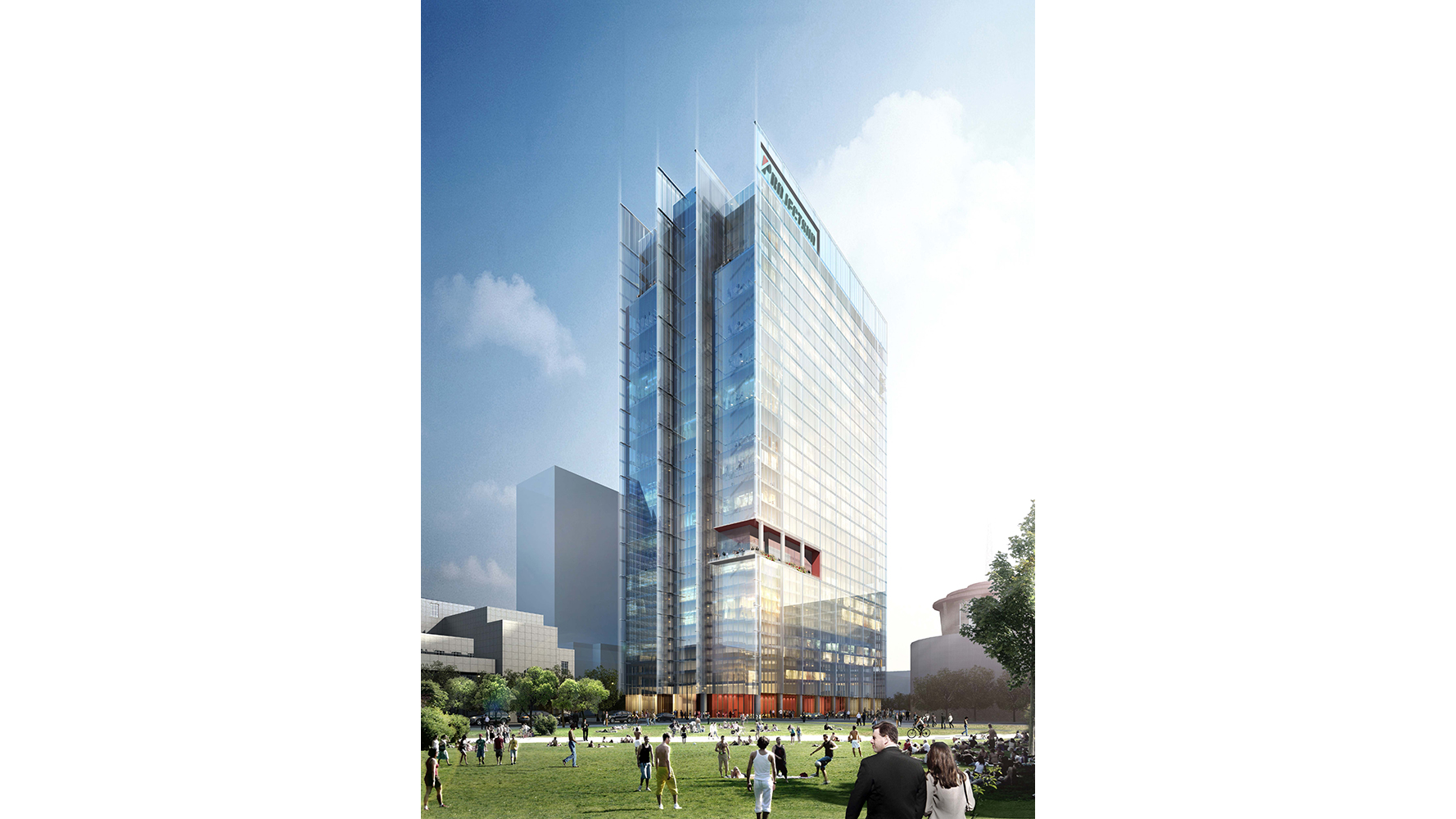 Bridgestone Tower headquarters rendering