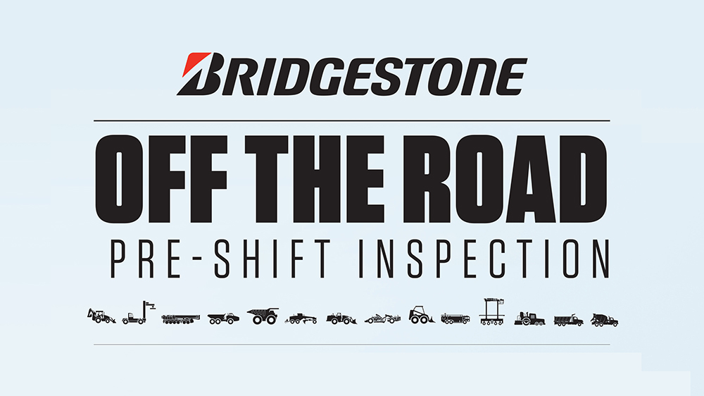 Bridgestone off the road inspection checklist