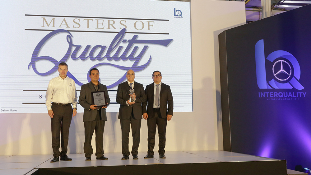 The 2016 Masters of Quality Award