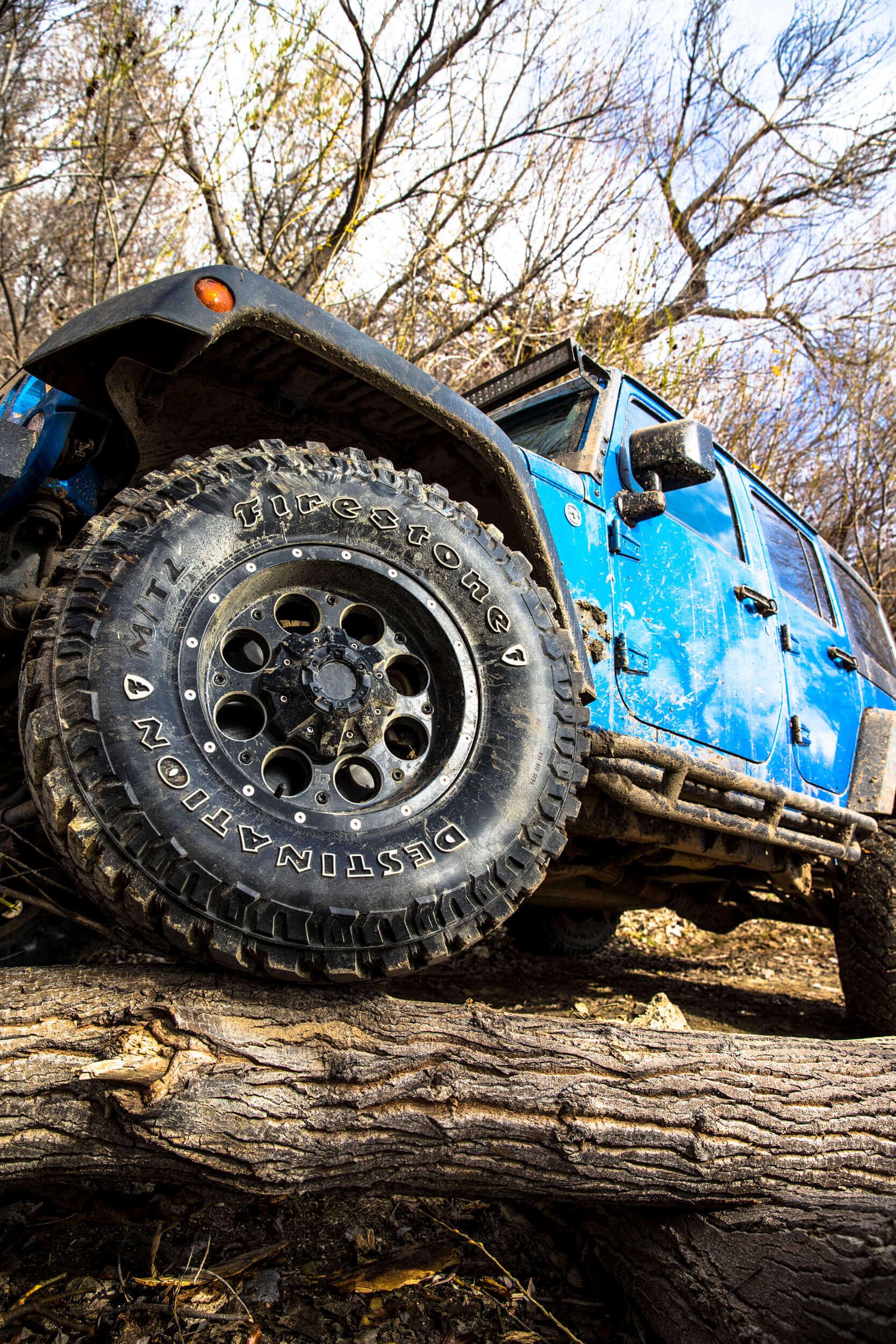 Firestone Launches Aggressive Off Road Tire For 4x4s Pickup Trucks