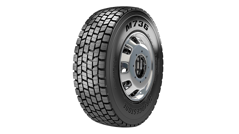 Bridgestone M736 radial tire