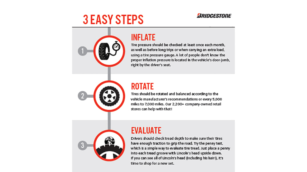 Bridgestone Tire Safety Tips