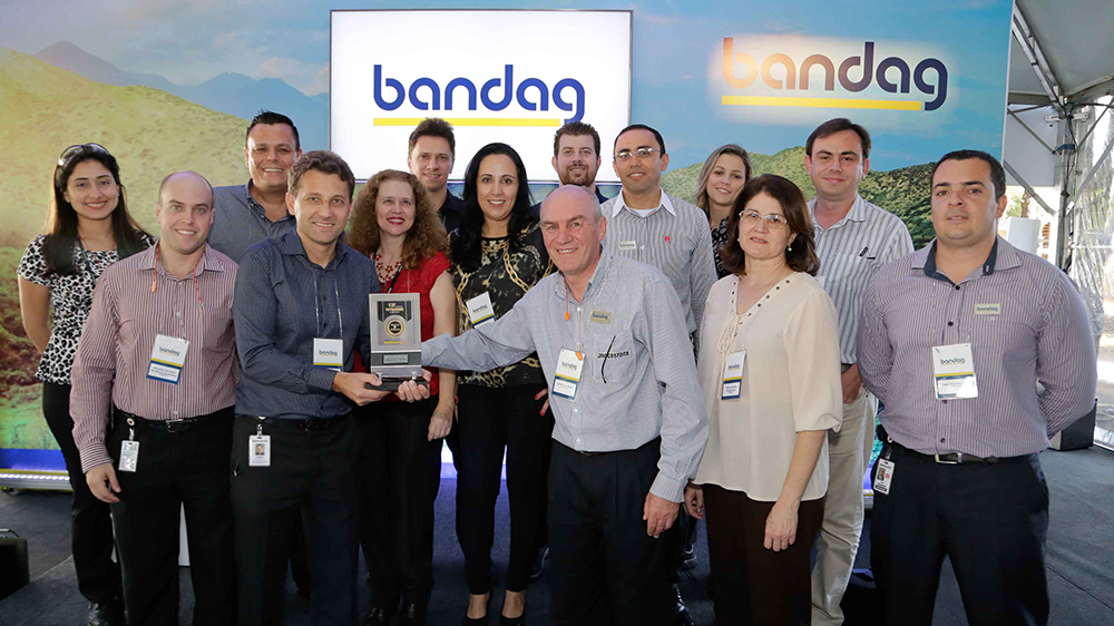 Bridgestone Bandag receives TopRubber award in Brazil