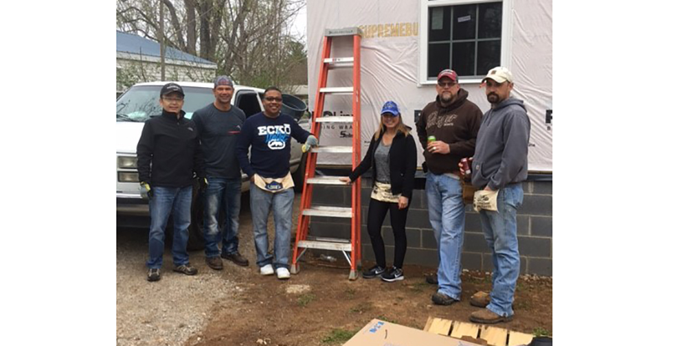 Bridgestone teammates participate in Habitat for Humanity build