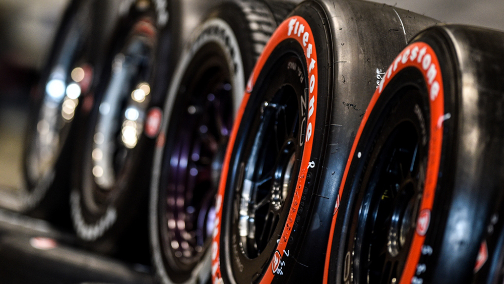 Firestone tires for INDYCAR