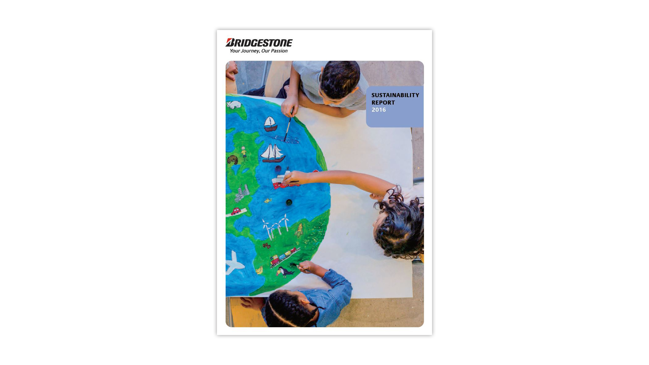 Bridgestone 2016 CSR Report cover