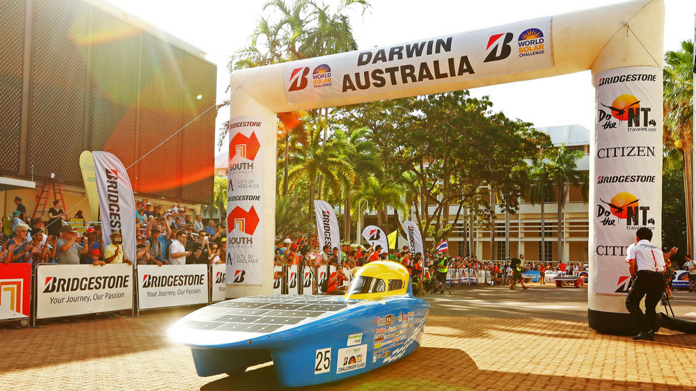2017 Bridgestone World Solar Challenge