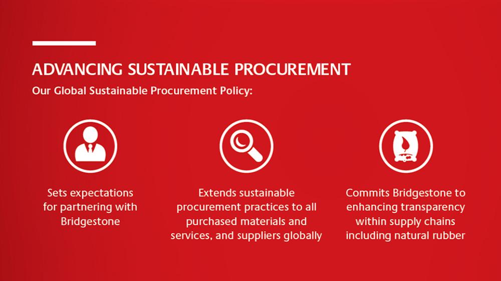 Bridgestone Elevates Standards In Sustainable Procurement Practices