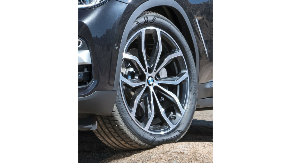 Bridgestone tires on BMW
