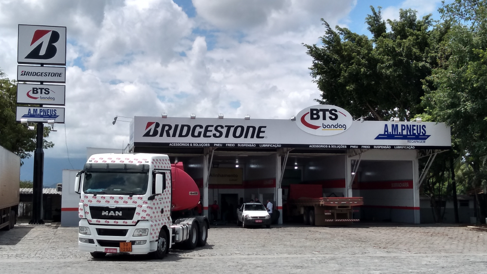 Bridgestone Brazil Bandag retread expands