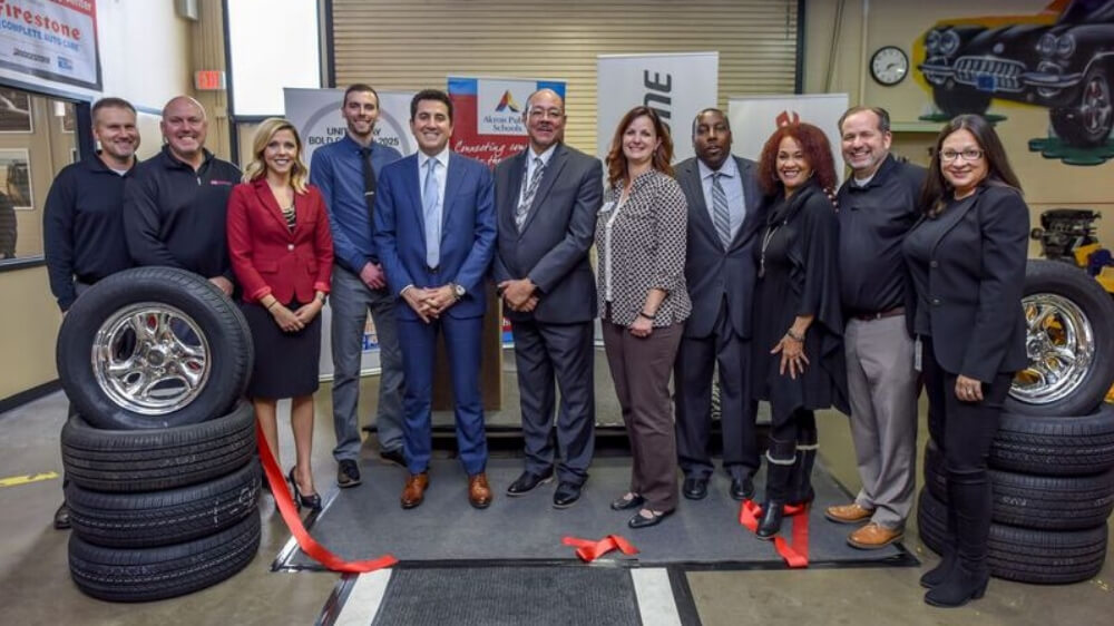 Akron Public Schools Open New Automotive Training Center with Firestone Complete Auto Care